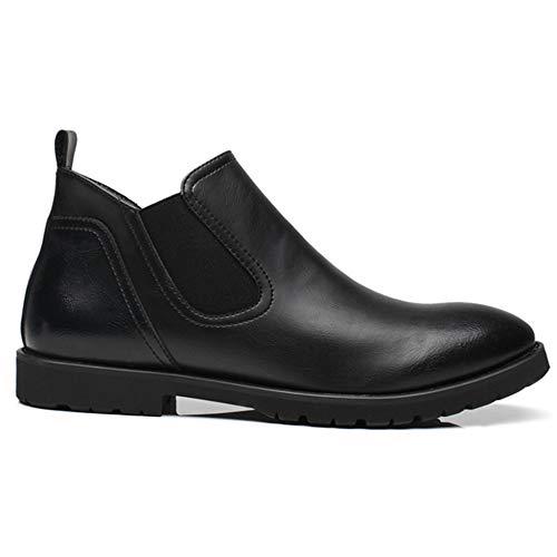 Di Casual Stivaletto Calzature Shoes Desert Chelsea Black Caviglia Lavoro FCBDXN Uomo Cuoio Indicati Stivali Calzature Utility qRp0Iw60