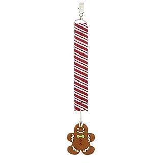 Ganz Gingerbread Silicone Teether Clip