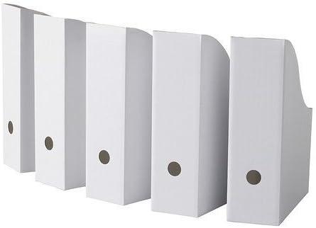 IKEA FLYT Magazine file, white - Set of 30
