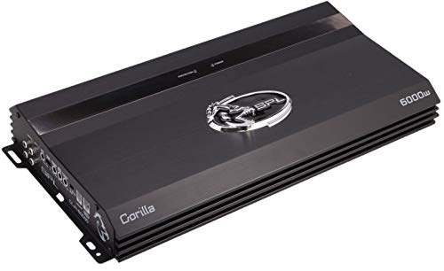 SPL Audio GLA2-2600 Gorilla 2 x 470 RMS at 4 Ohms 2 Channel Class A/B Amplifier 2600W Max