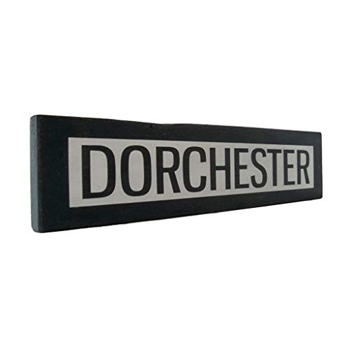 - Venu67Hol Dorchester One Way Wall Dcor Wood Plaque Sign