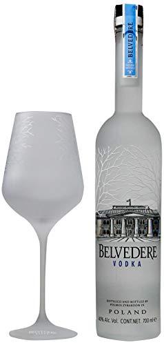Vodka Belvedere Pure 700ml com Spritz Glass