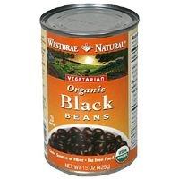 Westbrae Bean Black Ff Org by Westbrae