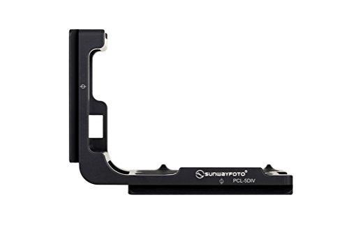 Sunwayfoto PCL-5DIV QR L Plate for Canon 5D Mark IV Arca / RRS Compatible Sunway