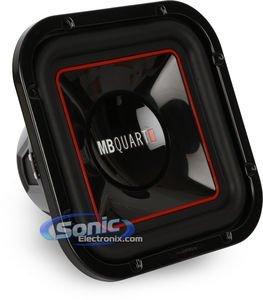 MBQUART ONX254SQ Onyx 10-Inch Square Subwoofer