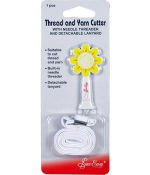 (Sew Easy Daisy Thread And Yarn Cutter)