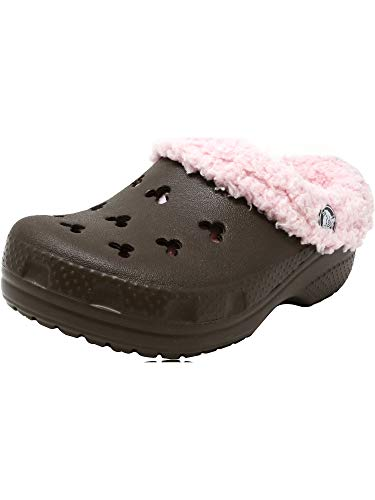 - Crocs Mickey Mammoth Chocolate/Cotton Candy Ankle-High Clogs - 10M