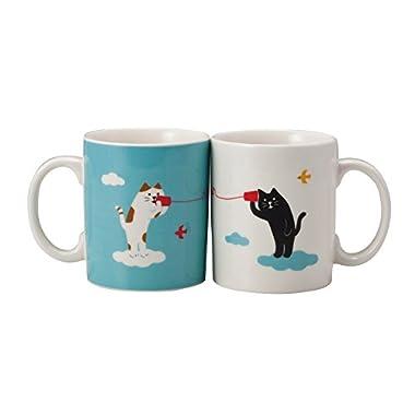 Concombre Coffee/Tea Mug Set - Cat Play
