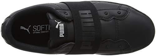 puma puma Sneakers Black Puma Basses Elastic Vikky 01 Black Noir Femme Platform 0t4qzR