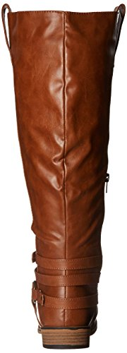 Bailey Brinley Extra Co Wide Boot Xwc Chestnut Calf Riding Women's wwHERg
