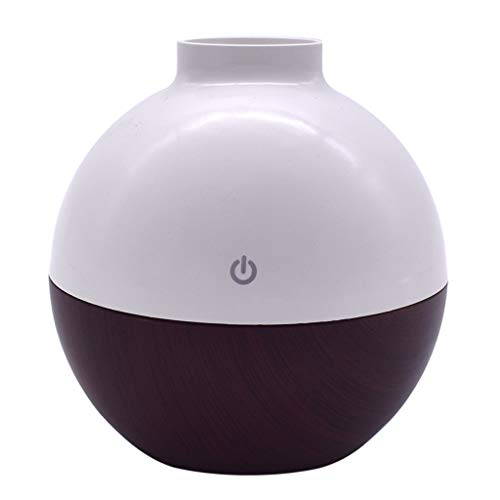 acction 130ml Portable Mini Home USB Humidifier Purifier Atomizer Air Purifier Diffuser Wooden Household Car Humidifier