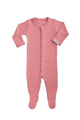 Bonamy Baby Unisex Organic Cotton Gloved Sleeve Footie ...