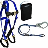 Safety Works 10067953 Fall Protection Aerial Kit, Standard Size