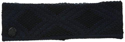 Vince Camuto Women's Geo Jacquard Headband, Caviar/Blazer Blue, One Size