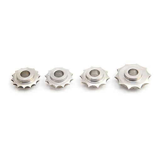 DIYツールボックス ピッチホイールブラウンストレートハンドル3/4/5 / 6mmレザーDIYツール