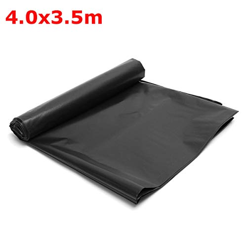 Impermeable Membrane Fish Pond Liners Reinforced HDPE for Garden Pools Landscaping - Raw Materials Plastics - (#1) - 1x Fish Pond Liners
