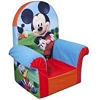 Marshmallow High Back Chair, Disney Mickey Mouse Club House