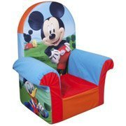Marshmallow High Back Chair, Disney Mickey Mouse Club House by Erwinshy