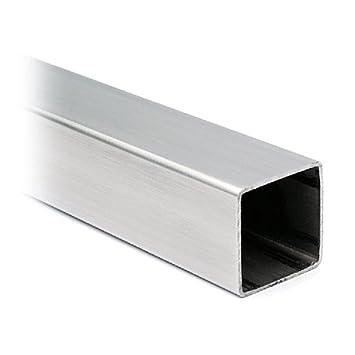De acero inoxidable del tubo cuadrado 35 x 35 mm, longitud 2 ...