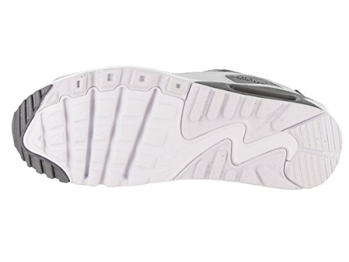 Nike - Zapatillas de deporte Air Max 90 2007 gris, blanco (Cool Grey/Wolf Grey-pure Platinum-white)