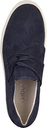 Bluette Formateur Gabor Sur Chaussures Acteur De Glisser Womens Suede Les w8T1axq68