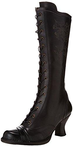 Neosens ROCOCO - botas de cuero mujer Negro (Ebony)