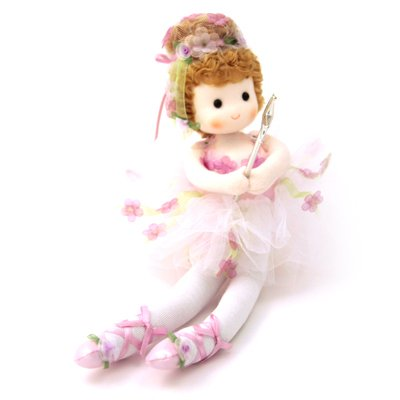 Sugar Plum Fairy Musical Doll (Plum Sugar Ballerina Fairy)