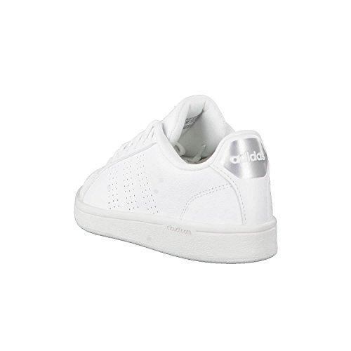 Blanc Cass W De Chaussures Femme Advantage Cf Cl Adidas Fitness qw684p6z