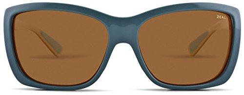 Zeal Optics Unisex Idyllwild Everglades Jade w/Polarized Copper Lens - Sunglasses Zeal