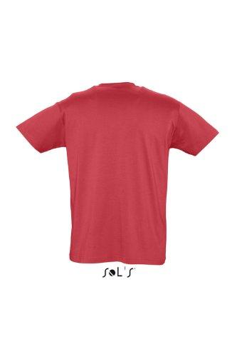 SOL´S Organic Cotton Men T-Shirt, Größe:S, Farbe:Red