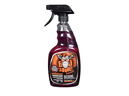 Industrial & Commercial Grease Cleaner - Double-Strength Heavy Duty Grease Remover Spray for Kitchens, Machines, Tools, Shops, Engines, Metal, and All Greasy Materials
