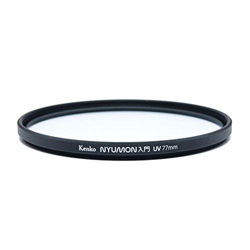 Kenko Nyumon Slim Ring 77mm UV Multi-Coated (MC) Filter, Black, compact (227749)