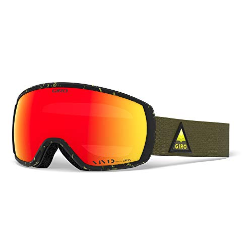 Giro Balance Adult Snow Goggles - Citron Arrow MTN Strap with Vivid Ember Lenses (2020)