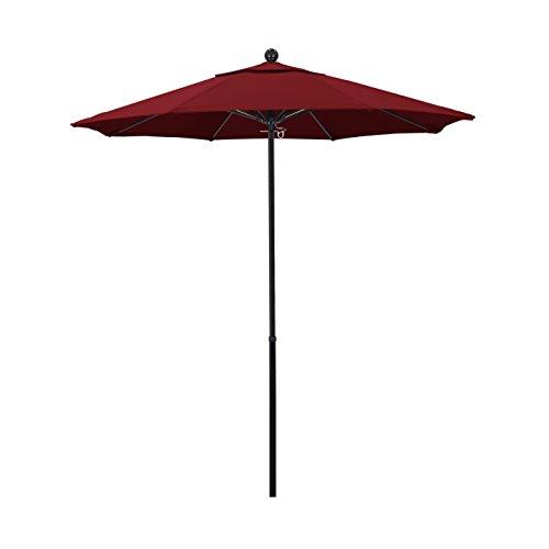 Red 7.5' Olefin Umbrella - 9