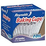 reynolds baking cups jumbo - Reynolds Baking Cups Extra Large 3 1/2 inches - 24 Ea