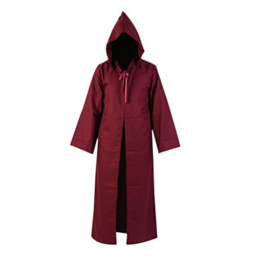 Smartcoco Halloween Cosplay Hooded Long Sleeves Cloak Adult Halloween Party Costumes (Red Baron Baby Costume)