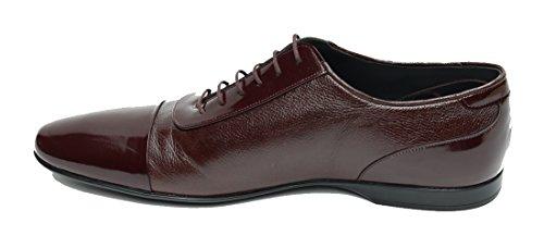 ... MUGA Herren Business Schuhe Sportlich-Elegant Bordeaux ...