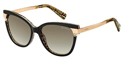 max-mara-layers-ii-s-0cj6-black-ivory-gold-ha-brown-gradient-lens-sunglasses