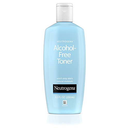 Sensitive Skin Toner - Neutrogena Oil- and Alcohol-Free Facial Toner, with Hypoallergenic Formula, 8.5 fl. oz