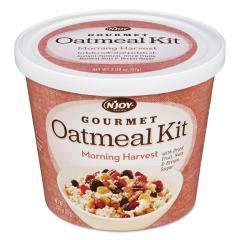 (N'Joy Gourmet Oatmeal Kit, Morning Harvest, 3.08 Oz Bowl)