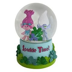 Dreamworks Trolls Poppy & Guy Diamond Musical Snow Globe