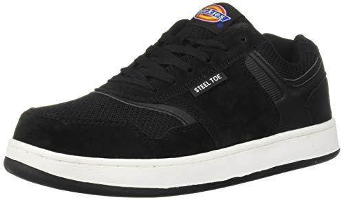 Dickies Men's Shredder Steel Toe EH Industrial Shoe, Black, 8 Medium ()