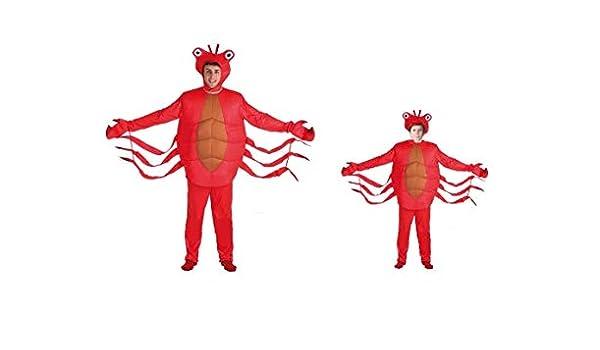 LBA Disfraz de Langosta o Cangrejo. Varias tallas de niño y talla ...