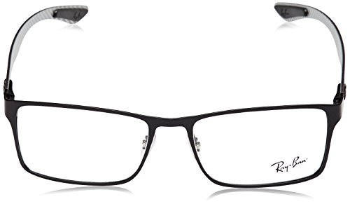 ed5ce2de19 Ray-Ban Men s RX8415 Eyeglasses Matte Black 53mm - Buy Online in KSA ...