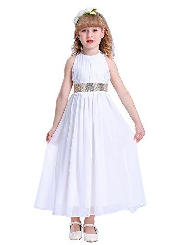 Happy Rose Bling Bling Sequins Chiffon Girls Dress
