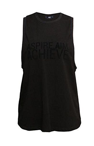Negro Chaleco Mujeres Para Activewear Acai Aspire anI4XEq