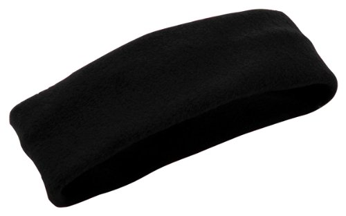 Augusta Sportswear Chill Fleece Headband Earband - Black 6745A OS