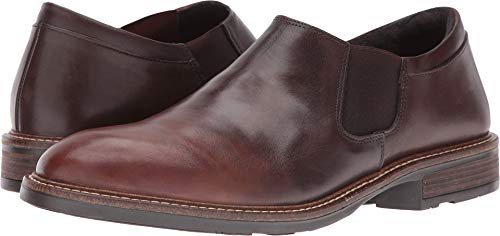 Naot Footwear Men's Director - Hand Crafted Brown Gradient Leather Loafer 47 (US Men's 14) M
