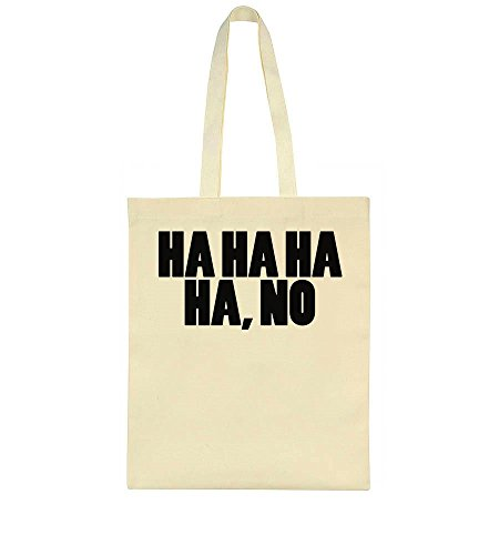 Idcommerce Bag Ha Ha No Tote 1qTr1Fw