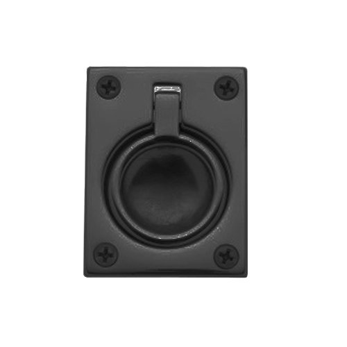 Baldwin Flush Ring Pull - Baldwin 0394.102 Flush Ring Door Pull for Sliding Doors, Oil Rubbed Bronze